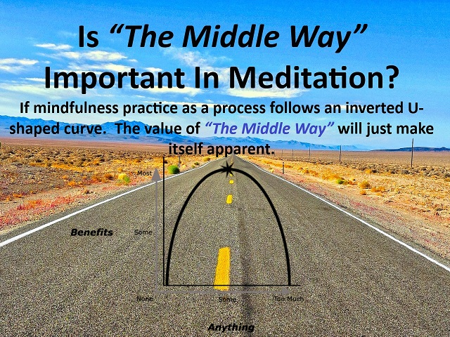 "Is ""The Middle Way"" Important In Meditation?"